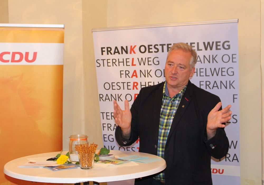 Der Vorsitzende des CDU-Kreisverbandes Wolfenbüttel, Frank Oesterhelweg MdL, lädt alle Unionsmitglieder zur Diskussion des Koalitionsvertrages ein. Foto: Alexander Dontscheff