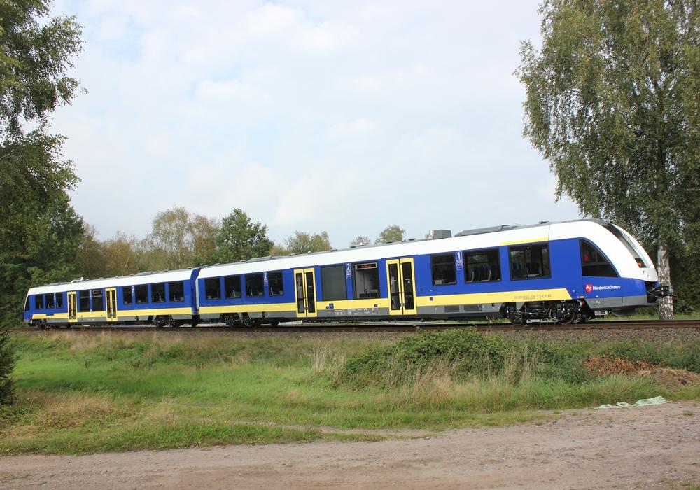 Der Zugverkehr wurde eingestellt. erixx Symbolfoto: erixx GmbH