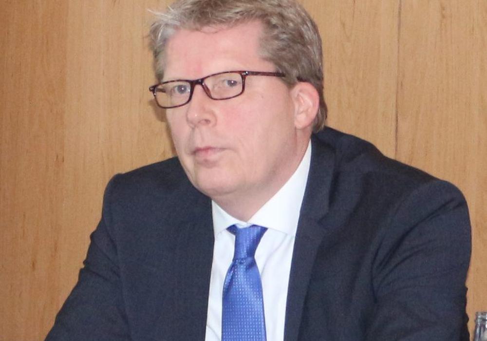 Stadtbaurat Heinz-Georg Leuer. Archivfoto: Robert Braumann