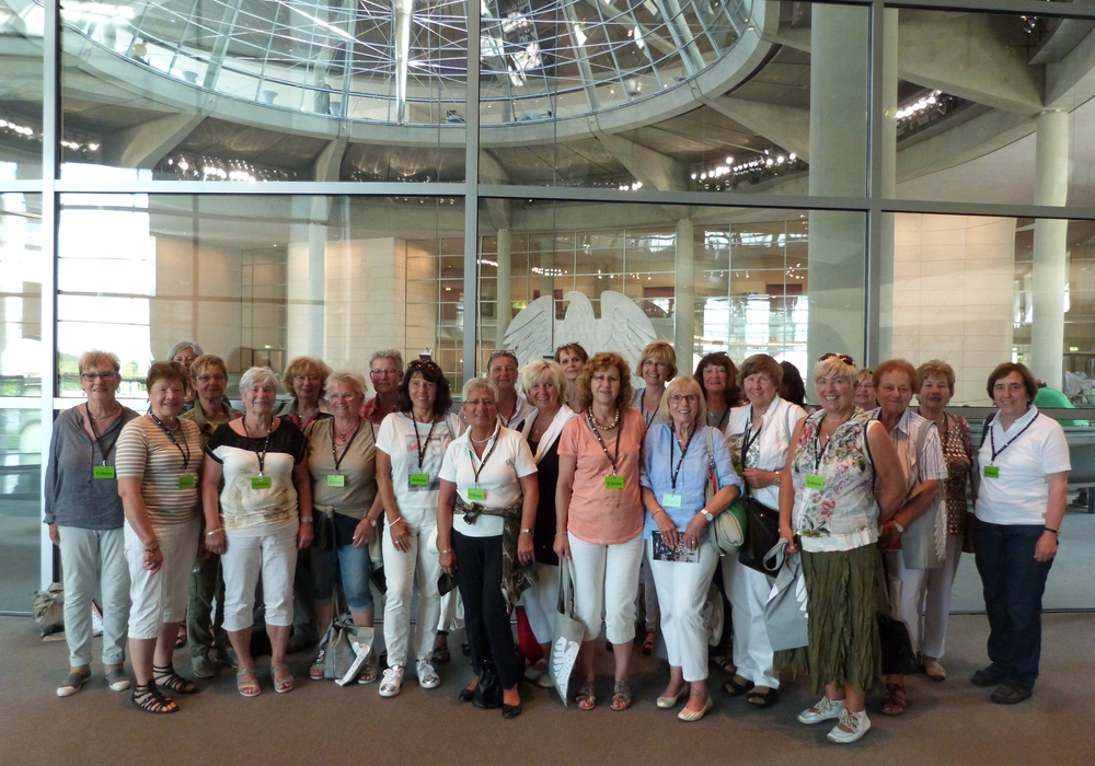 Der Ortsverband Landfrauen Abbesbüttel besuchte den Reichstag in Berlin. Foto: SPD