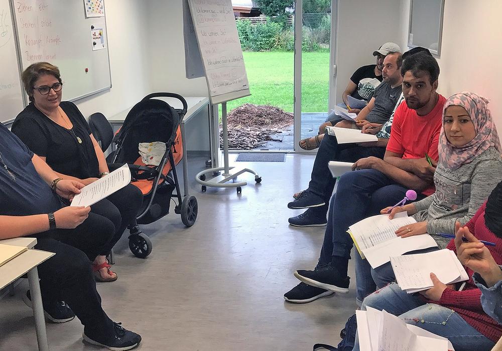 Die Stabsstelle für Integration bietet regelmäßig Trainings in Alltagssprache an. Foto und Video: Stadt Wolfenbüttel/RAE