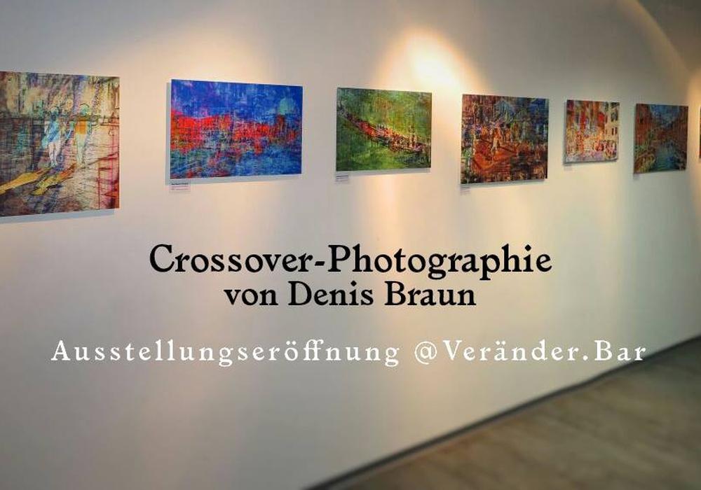 Kleine Vernissage mit vier selbstkreierten Black Stories zu den gehängten Kunstwerken am 04.10.2017, 19h in der Veränder.Bar. Foto: Veränder.Bar