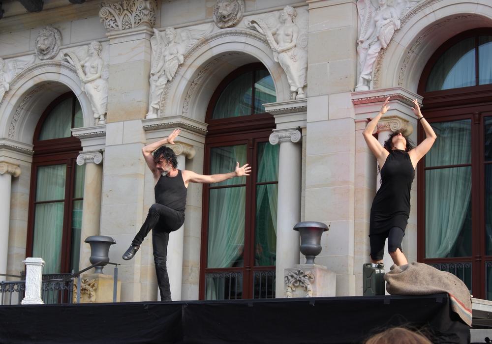 Die zwölfte Kulturnacht in Braunschweig hatte auch außergewöhnliche Tanzeinlagen im Programm. Fotos: Antonia Henker