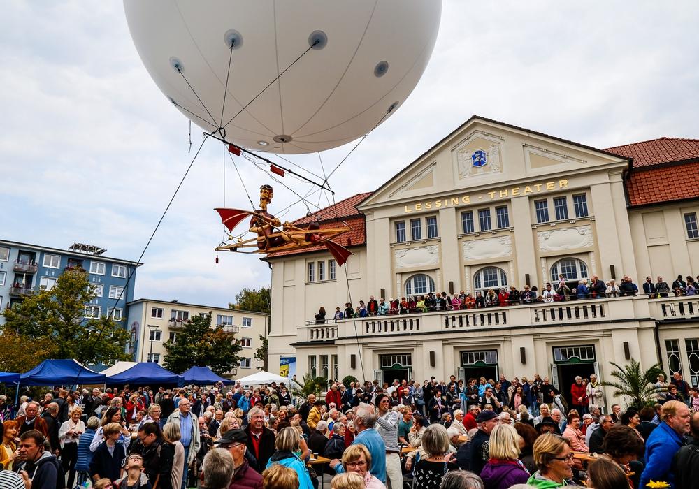 Theater für alle. Foto: Thorsten Raedlein