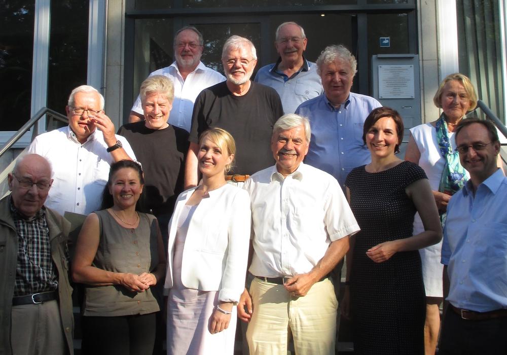 Die Teilnehmer des Diskussionsabend. Foto: Dieter Lorenz