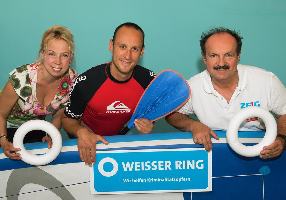 Heike Göttert, Sven Overbeck und Günter Koschig (v. li.). Foto: Photogeno