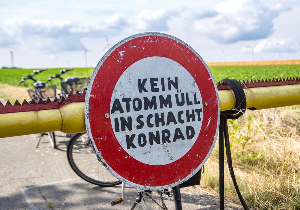 Kundgebung am Schacht Konrad. Fotos: Rudolf Karliczek
