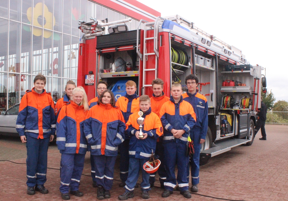 Die Jugendfeuerwehr aus Vienenburg will beim Feuerwehr-Pulling in Wolfenbüttel ihren Titel verteidigen. Fotos: Anke Donner