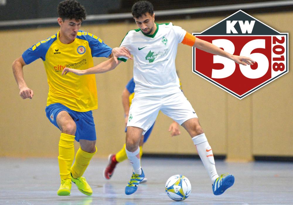Saisonstart für Eintrachts Regionalliga-Futsaller. Foto: Moritz Eden/Archiv