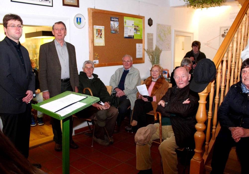 Die Jahresabschlussandacht im Heeseberg-Museum. Foto: Bernd-Uwe Meyer