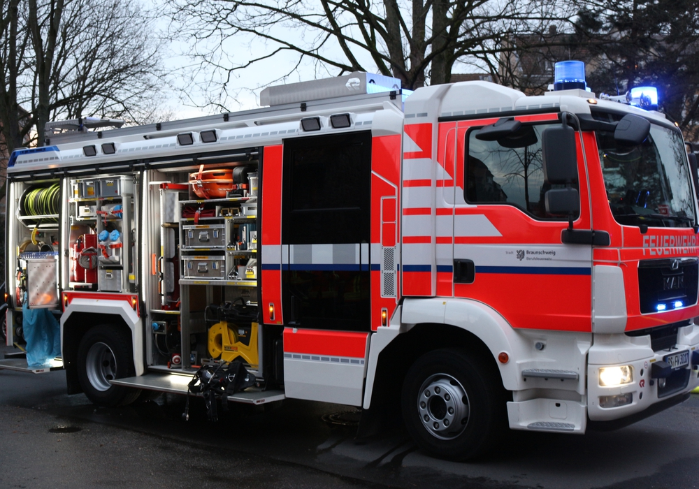 Die Einheiten kehren heute nach 56 Stunden zurück zum Feuerwehrhaus der Ortsfeuerwehr Innenstadt zurück. Symbolfoto: Anke Donner