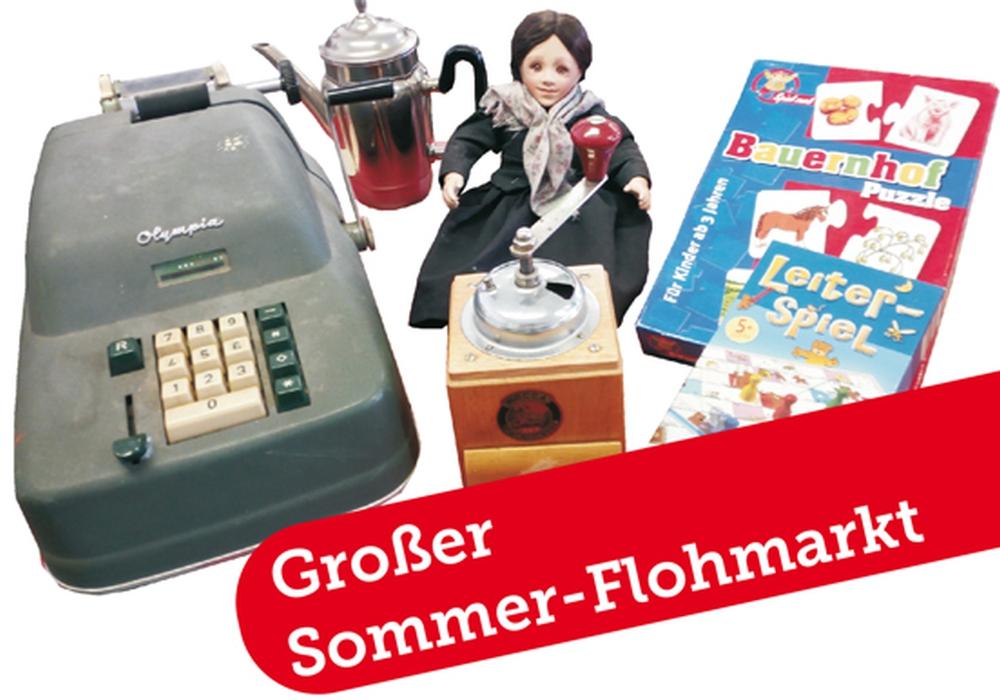 Sommer-Flohmarkt! Foto: Goslarsche Höfe – Integrationsbetrieb - gGmbH