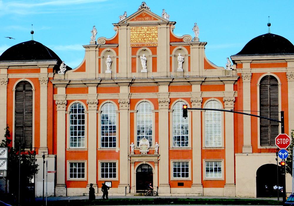 Die St. Trinitatis Kirche am Holzmarkt in Wolfenbüttel. Foto: Nick Wenkel