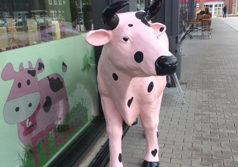 Wer hat die Kuh gesehen? Foto: Agnes del Favero