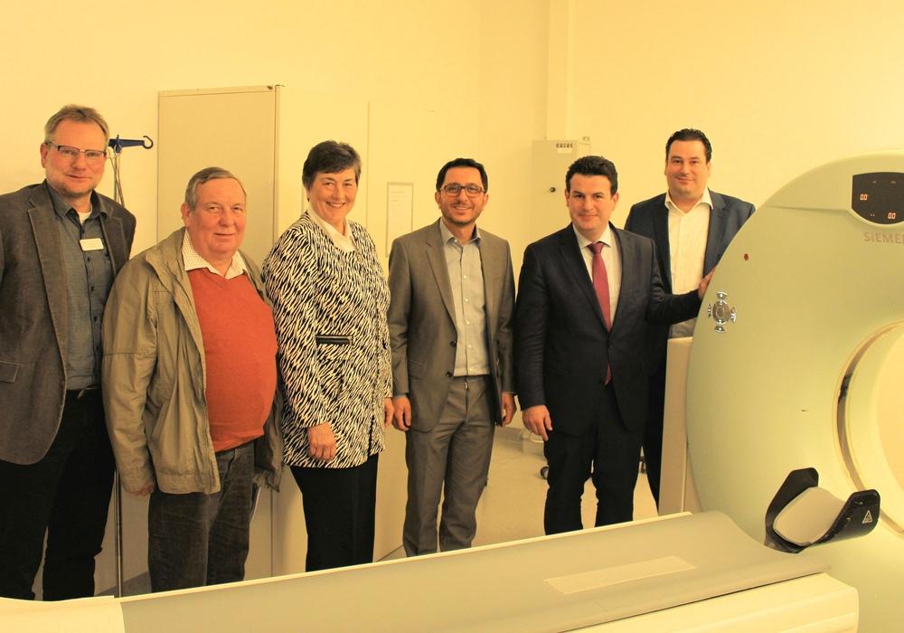 Jens Bosenick, Hans Heinrich Koch, Marion Lau,   Dr. OsmanMersinli, Hubertus Heil, Tobias Heilmann. Foto: SPD