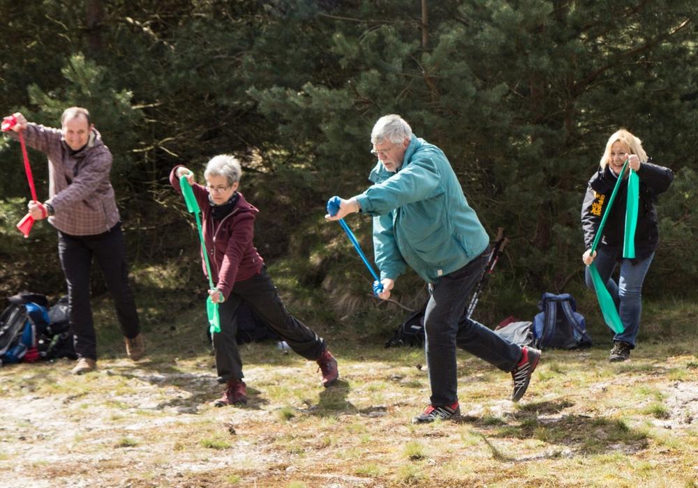 Wandern für die Gesundheit. Foto: Privat