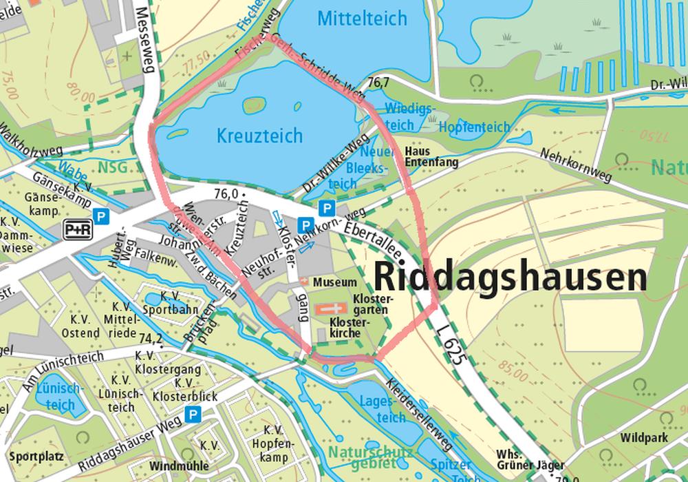 Dieser Bereich soll evakuiert werden. Symbolbild: Stadt Braunschweig