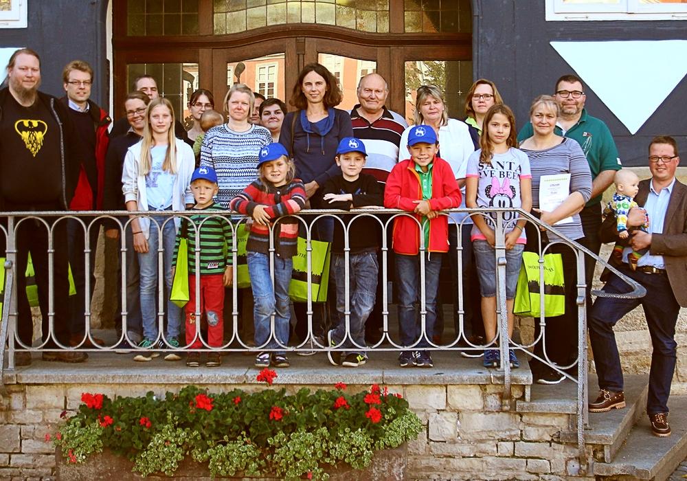 Bei der Siegerehrung der Wolfenbütteler City-Familie 2015 gab es nur Gewinner. Foto: Stadt Wolfenbüttel
