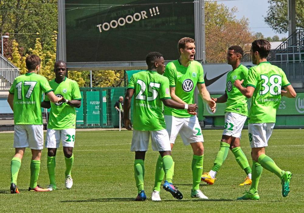 Im Livestream: FC Eintracht Norderstedt gegen VfL Wolfsburg U23. Foto: Frank Vollmer