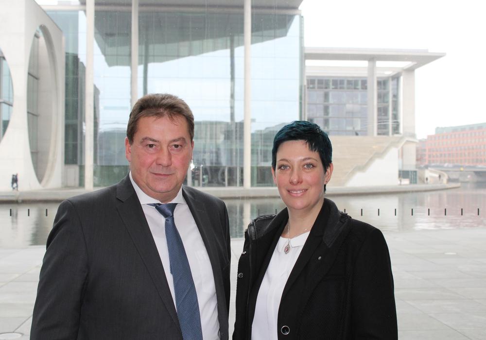 """Landtagskandidatin, Sarah Grabenhorst-Quidde besuchte den Deutschen Bundestag und nahm am Fachgespräch """"Asse II"""" teil. Foto: Privat"""