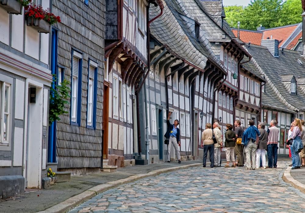 Eine Stadtführung durch Goslar ist immer lehrreich.  Foto: Stadt Goslar