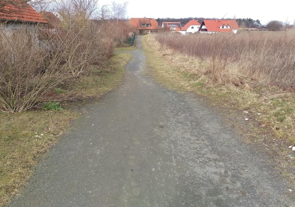 Die Pflege dieses Feldwegs ist FDP/AfG ein Dorn im Auge. Foto: Privat