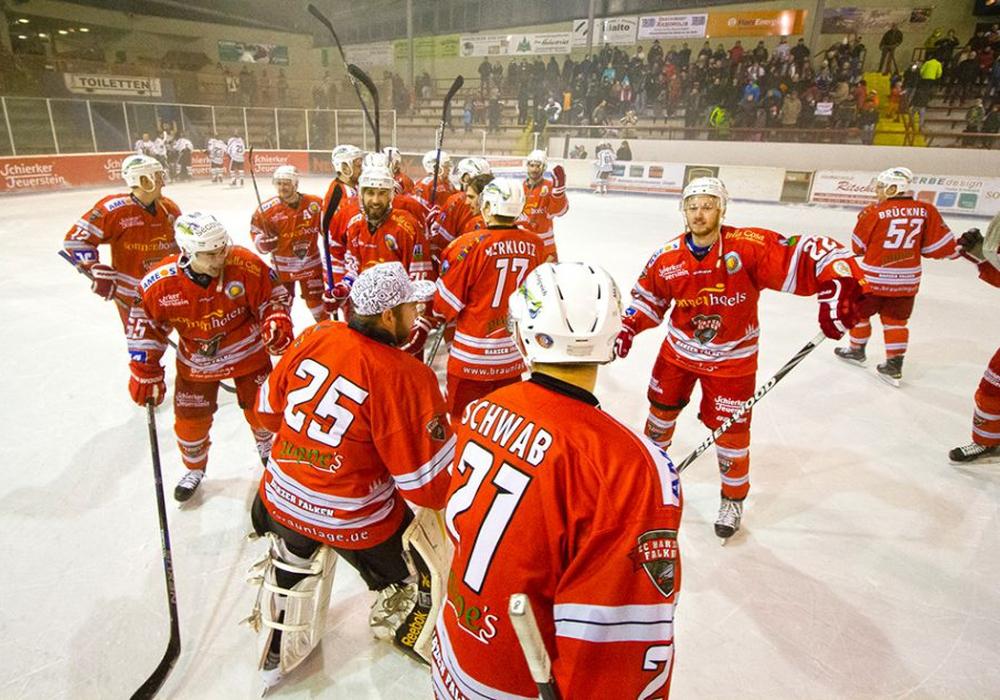 Finden die Falken trotz der dünnen Personaldecke wieder in die Erfolgsspur? Foto: Brandes/PresseBlen.de
