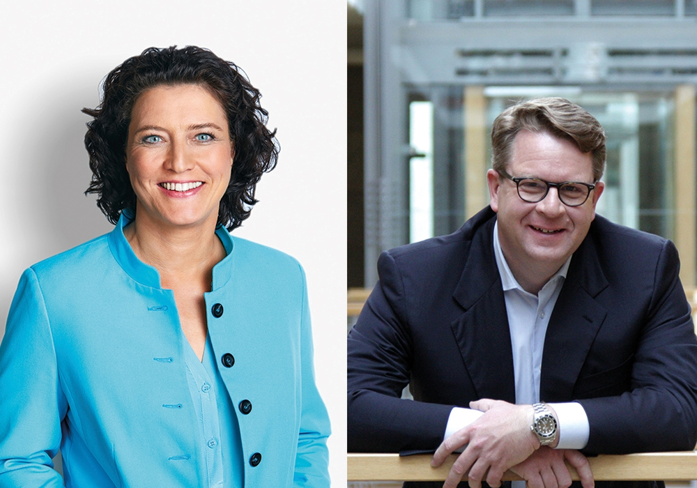 Die Braunschweiger Bundestagsabgeordneten Dr. Carola Reimann und Carsten Müller Foto: SPD/CDU