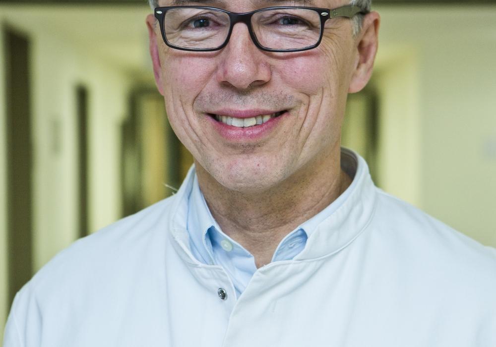 Prof. Dr. Peter Hammerer, Chefarzt der Klinik für Urologie und Uroonkologie im Klinikum Braunschweig. Foto: Klinikum Braunschweig / Jörg Scheibe