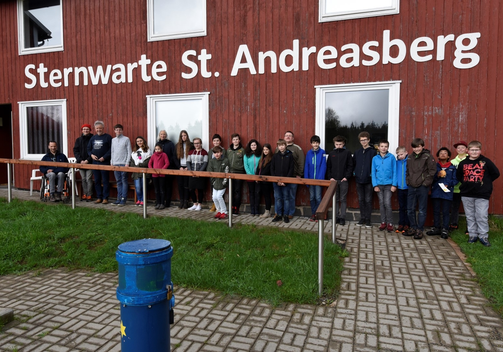 Das Programm am Zukunftstag der Sternwarte war von 9 bis 15 Uhr eng getaktet. Foto: Sternwarte Sankt Andreasberg