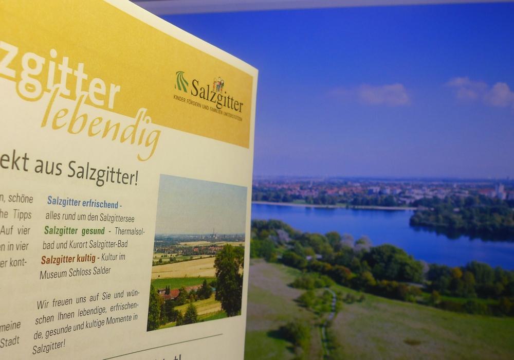 Die neueste Ausgabe der Freizeitinfo liegt ab Freitag, 1. Juli, öffentlich aus. Sie gibt für Salzgitter einen ausgewählten Überblick über Sehenswertes, Veranstaltungen, Ausflugsziele und Kultur. Außerdem sind zahlreiche Tipps enthalten. Foto: Stadt Salzgitter