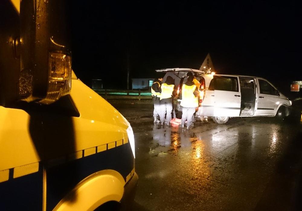 Am Mittwoch hatte die Polizei eine Großkontrolle im Landkreis durchgeführt. Foto: Polizei