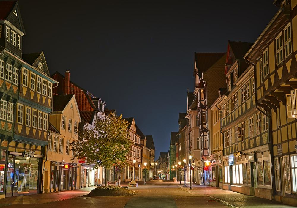Nachtaufnahme Wolfenbüttel. Foto: Achim Meurer; Stadt Wolfenbüttel