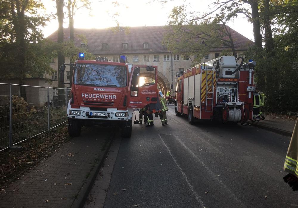 Ein großes Leitungsleck in einer leerstehenden Wohnung wurde entdeckt. Foto: Feuerwehr Grasleben