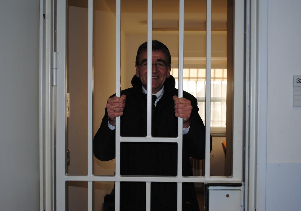 Bürgermeister Thomas Pink war im Gefängnis. Archivfoto: Marc Angerstein