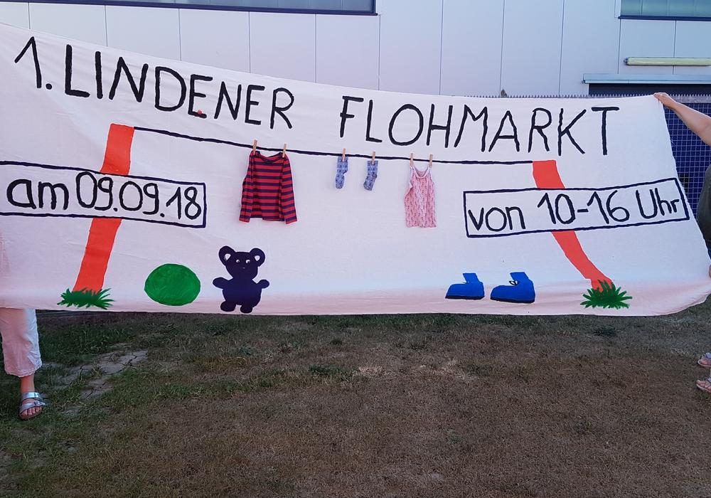 1. Lindener Dorfflohmarkt. Foto: privat