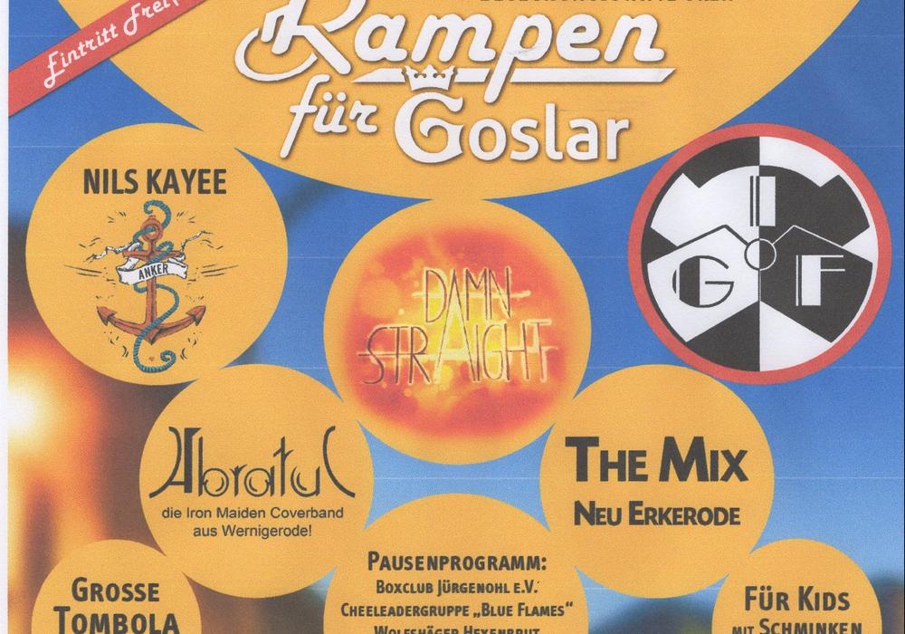 """Am 17. Juni finden wieder das Benefiz-Konzert """"Rampen für Goslar"""" statt. Das Programm und die Bands stehen bereits fest. Foto: Rampen für Goslar"""