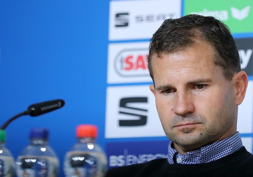 Steht Marc Arnold bei Eintracht Braunschweig vor dem Aus? Foto: Agentur Hübner