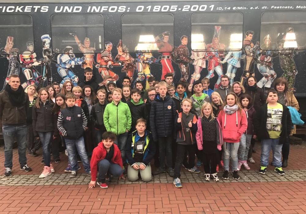 40 Kinder aus der Samtgemeinde Elm-Asse machten sich zu einem Ausflug ins Ruhrgebiet auf. Foto: Riechert.