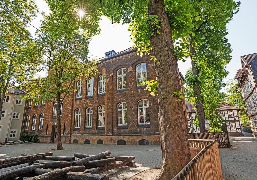 Die Baumaßnahmen an der Goetheschule kosten mehr Geld als erwartet. Foto: Alec Pein