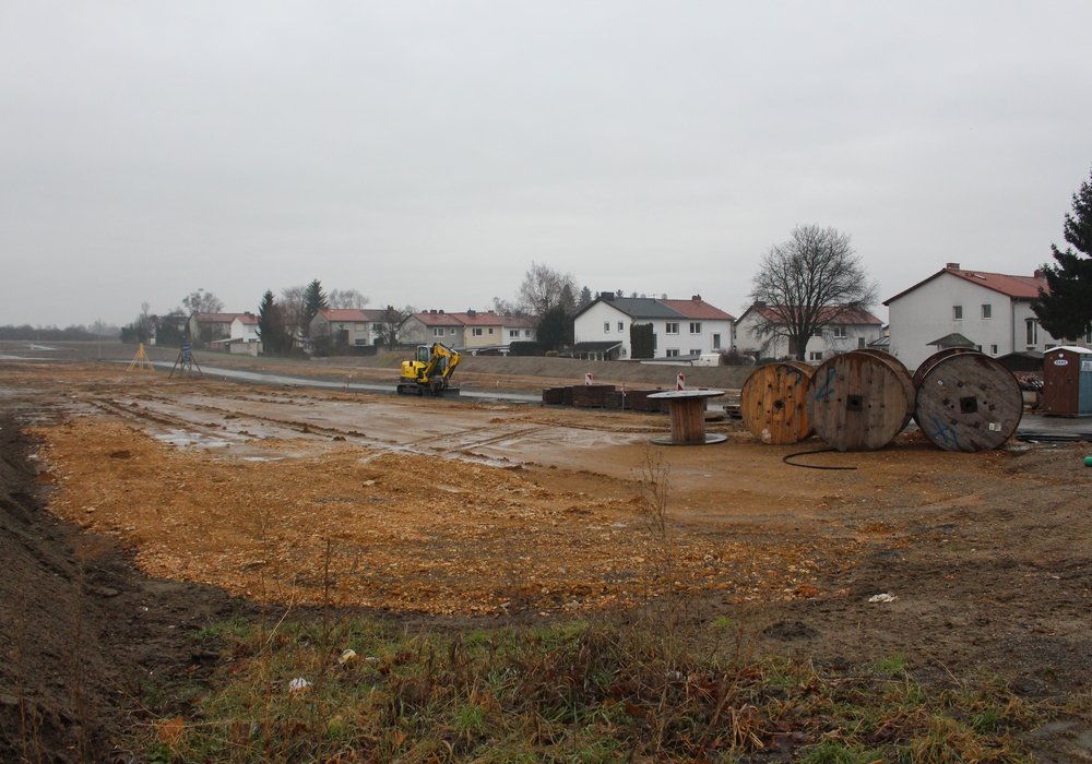 """Im Baugebiet """"Östlich Fallsteinweg"""" läuft alles nach Plan. Archivfoto: Nick Wenkel"""