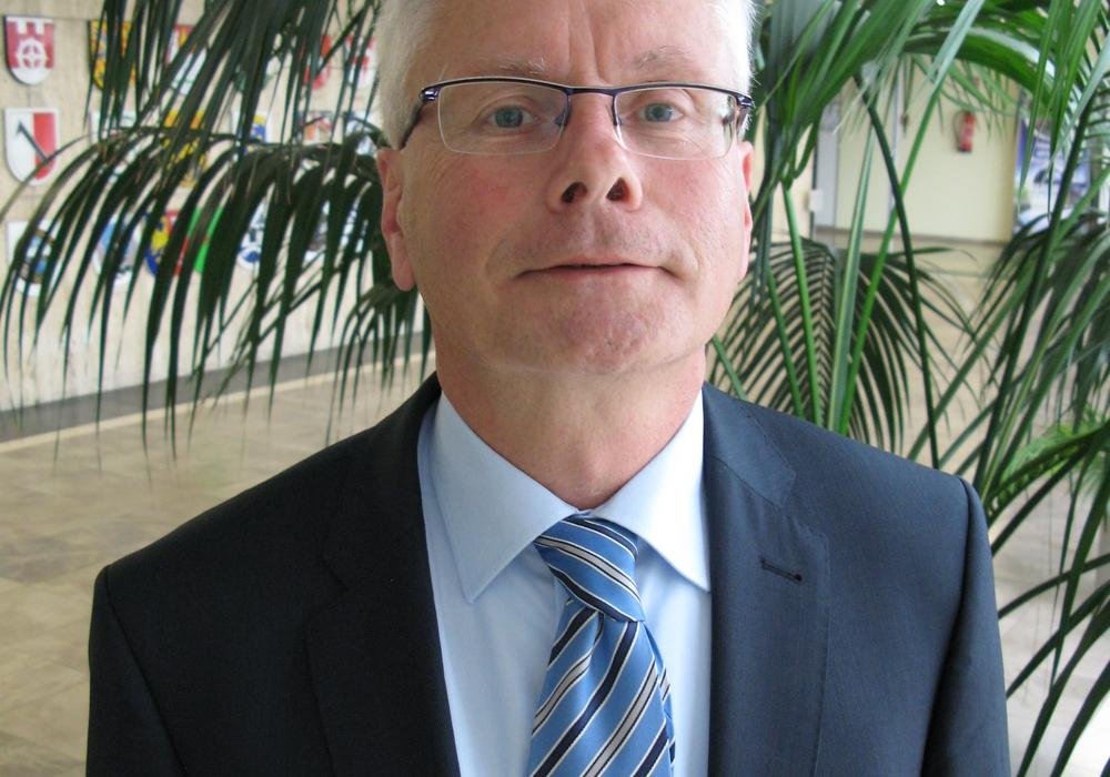 Der Neue in der Wolfsburger Verwaltung. Reiner Brill. Foto: Stadt Wolfsburg