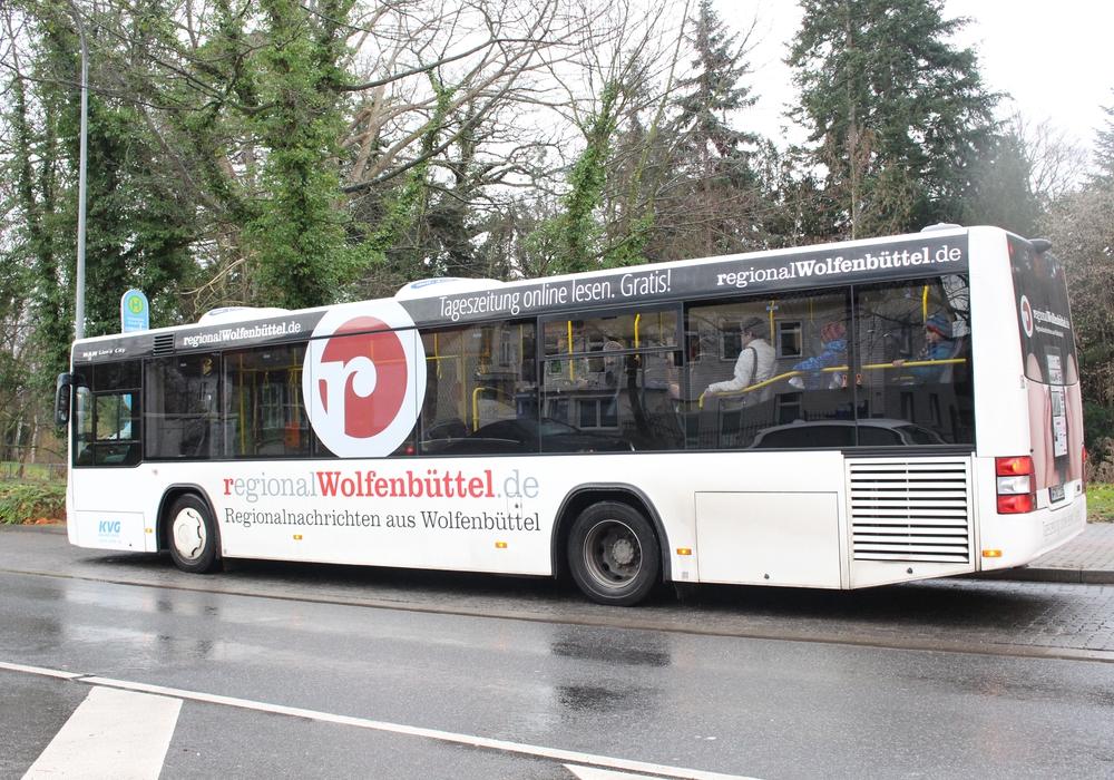 Bus muss Umleitung fahren. Symbolbild Foto: Max Förster