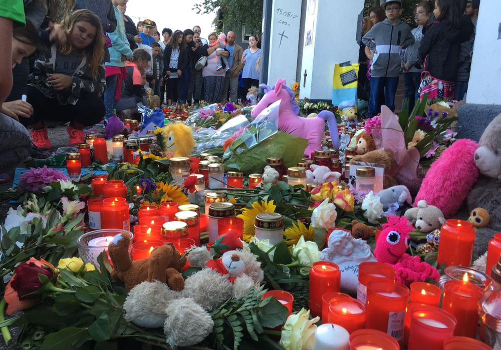 Der Tod von Leonie versetzte die Stadt in Bestürzung. Foto: André Ehlers