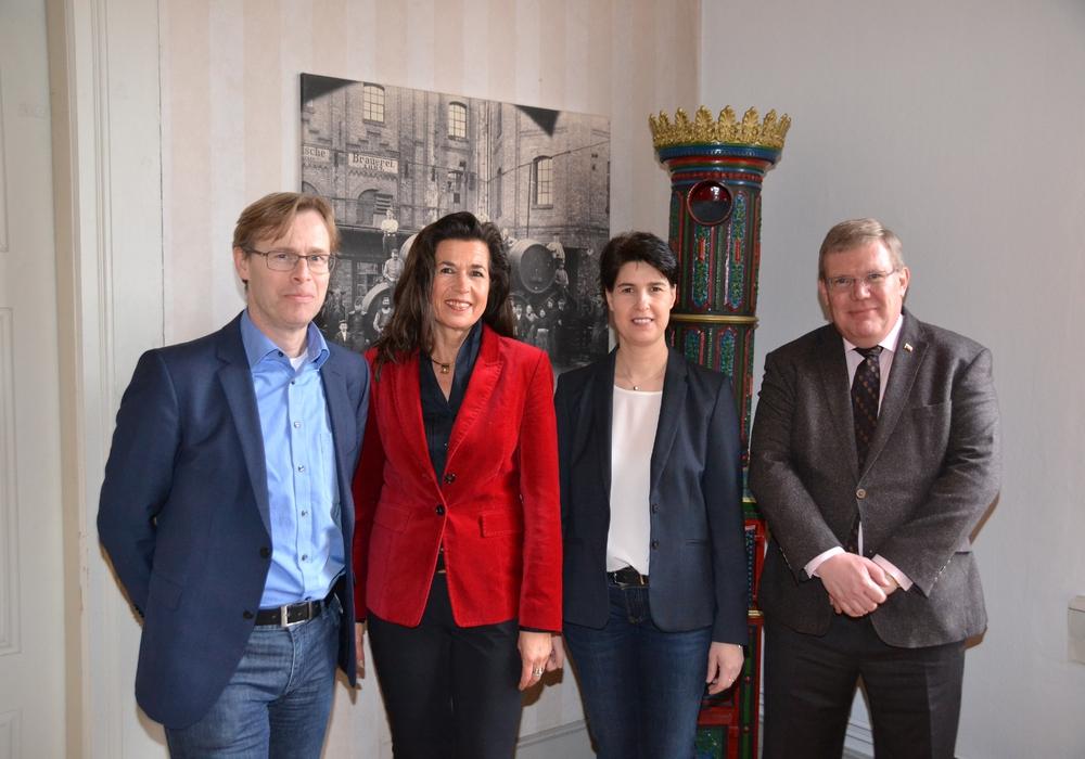 Von links nach rechts: Andreas Höfflin, May-Britt Pürschel, Carola Schmidt und Olaf Dirlam. Foto: HTV