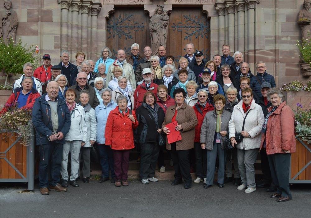 Reisegruppe auf ihrer Tour durch das Dreiländerdreieck. Foto: SPD Ortsverein Gifhorn