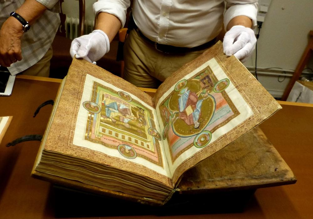Der Codex Caesareus ist wieder in Goslar. Foto: Goslarer Museum e.V.