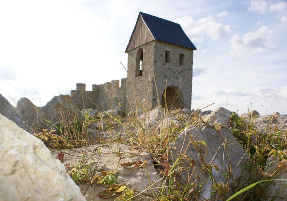 Die Kaiserpfalz Werla. Archivfoto