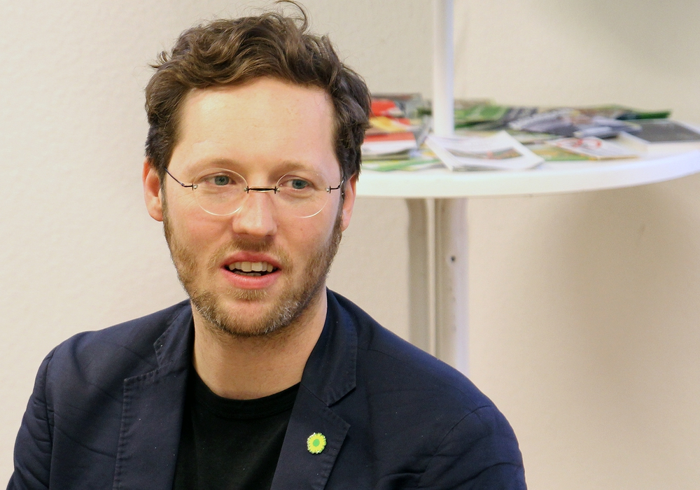 Jan Philipp Albrecht, Mitglied im Europäischen Parlament, ist in Wolfenbüttel aufgewachsen und hat am Gymnasium im Schloss sein Abitur gemacht. Foto: Archiv
