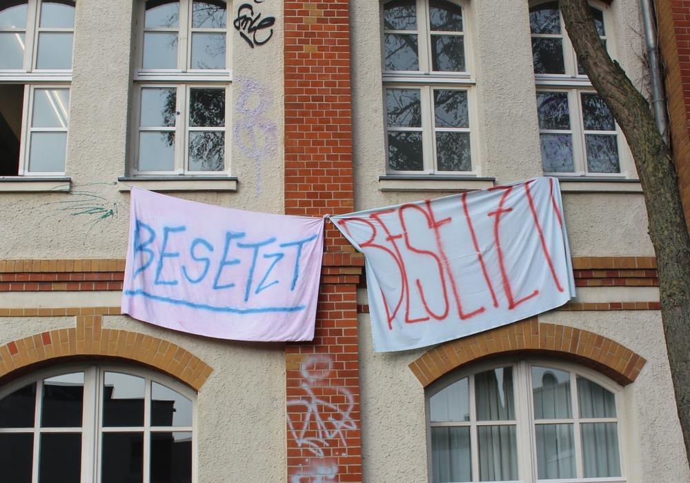 Im Streik der HBK zeichnen sich erste Verhandlungen ab. Fotos: Marian Hackert